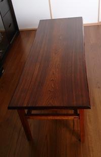 一枚板ローテーブル