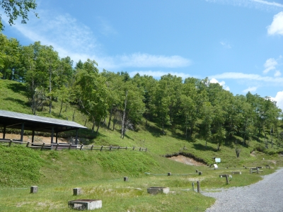 しらびそ高原山岳オートキャンプ場