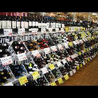 新浦安のワイン売り場