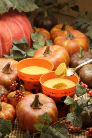 かぼちゃのプリン
