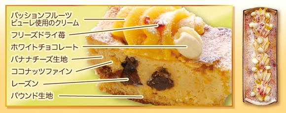 成城石井自家製 パッションバナナプレミアムチーズケーキ