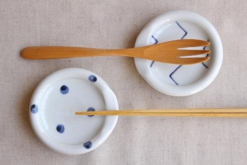 砥部焼・梅乃瀬窯:箸置き