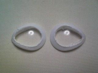 目のカバー