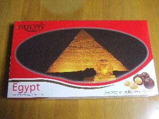 エジプトのチョコ
