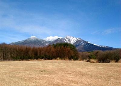 お正月の八ヶ岳