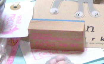 HI-KOちゃん手作りショップのスタンプ♪