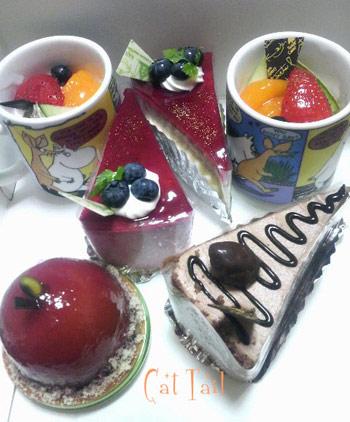 果樹さんのケーキ