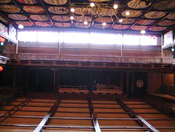 舞台からの眺め