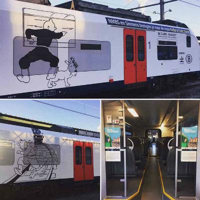 タンタンの電車