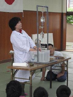 サイエンススクール大気圧の実験