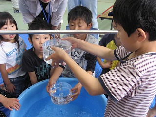 松尾サイエンススクール大気の実験