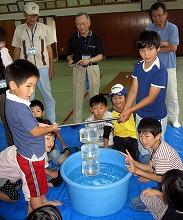 スクール大気圧の実験