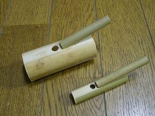 小鳥笛を作ろう
