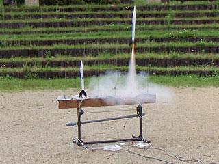 モデルロケットを作って打ち上げよう