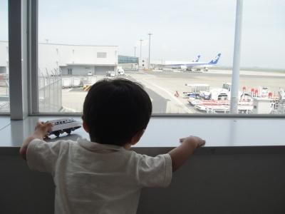 飛行機とボク、でも新幹線。