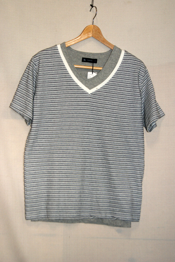 新品【PLUS ONEプラスワン】レイヤードTシャツ