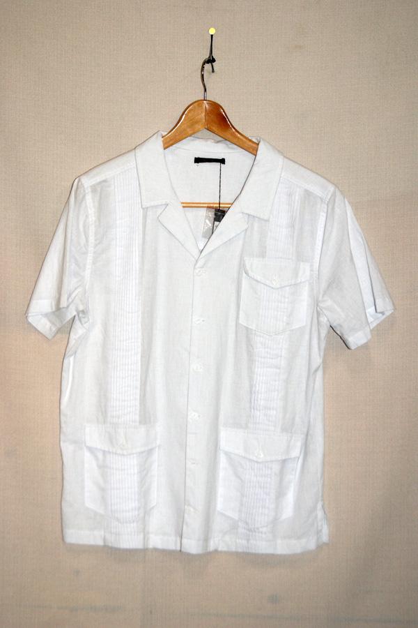 新品【OPEN ARMSオープンアームズ】キューバシャツ
