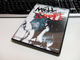 MELL FIRST LIVE TOUR 2008 SCOPE DVD