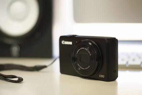 Canon PowerShot S90故障