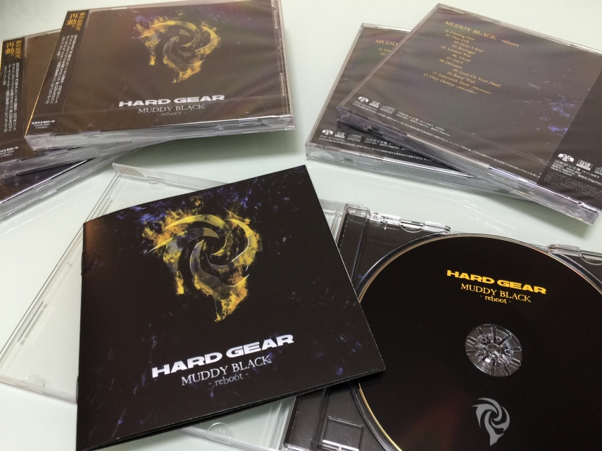 HARD GEAR NEW CD MUDDY BLACK -reboot-