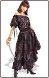 黒ドレスの海賊 コスチューム