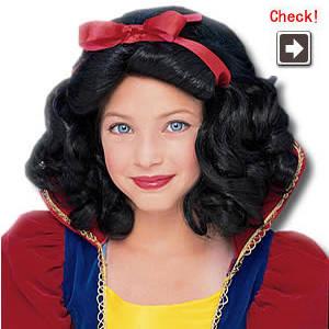 ディズニー白雪姫 かつら