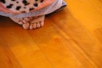 かわいい足