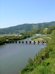 若井の沈下橋