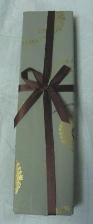 フランスのチョコ。包み