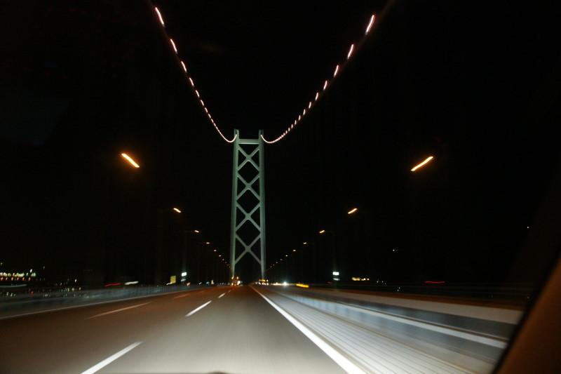 ISO1250で撮影したパールブリッジ