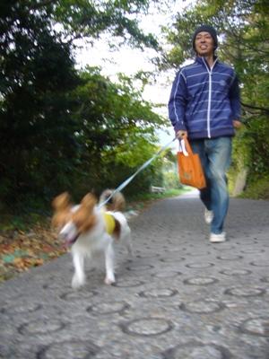 お散歩うきうき