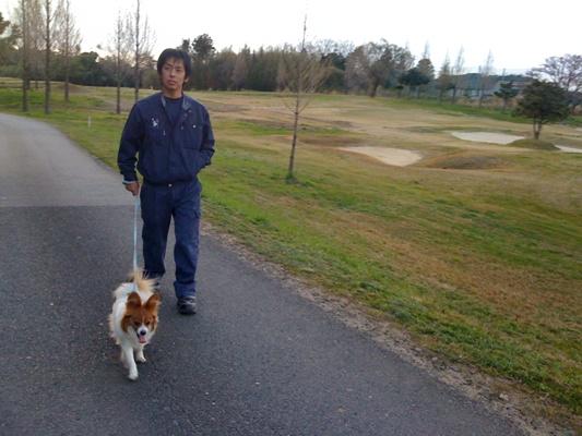りゅうと散歩