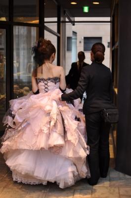 新婦のカラードレス