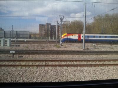 鉄道からの風景
