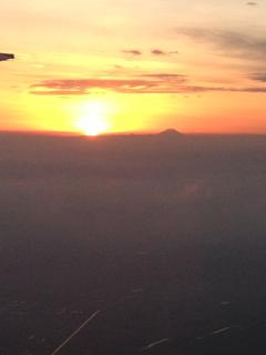 富士山飛行機