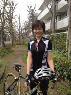 自転車ドレス