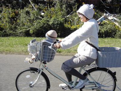 無印良品子供乗せ自転車~. ついに!子供乗せチャリ!買ったのよーーーー!うきょーー!たーのしーい!