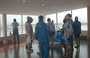 羽田再拡張計画の下見(空港第2ターミナル5F)