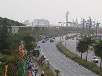5月13日、嘉手納包囲行動。