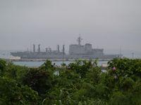 日本最大級の補給艦「おおみ」
