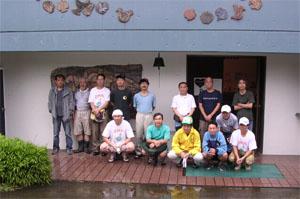 昨年、2007年の丸木美術館での集合写真