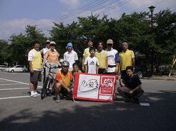 7/28(土) 松本ルートの出発