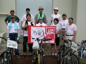 7月28日愛知ピースから小牧で引継ぎ