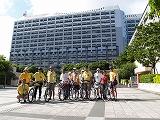 2007年の沖縄県庁出発の様子