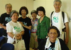 白井市長と記念写真