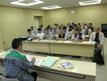 東京都教育委員会へ申し入れ