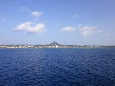 伊江島全景