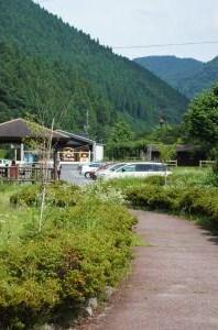 金持神社駐車場