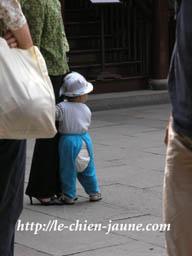 上海の赤ちゃん
