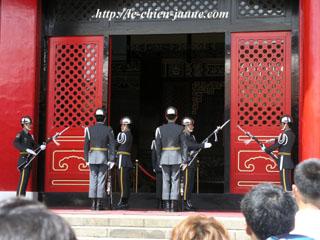 衛兵の交代式